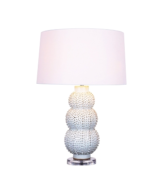 White Sea Urchins Lamp