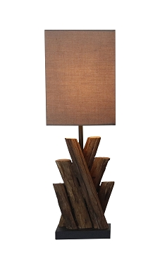 Crossed Natural Branches Table Lamp