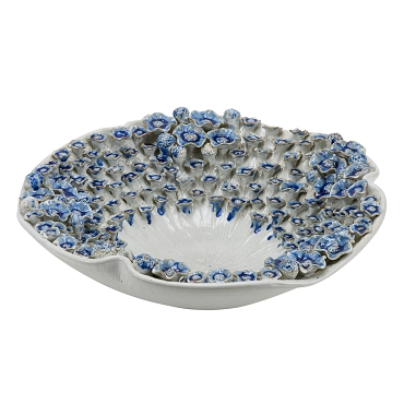 Blue and White Barnacle Bowl