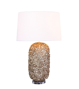 Cream Similan Ceramic Lamp