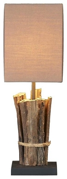 Teak Sticks Table Lamp