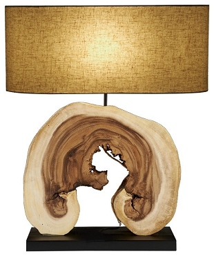 Natural Arbour Lamp